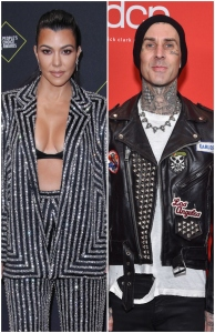 Kourtney Kardashian and Travis Barker Hang Out Together in Palm Springs