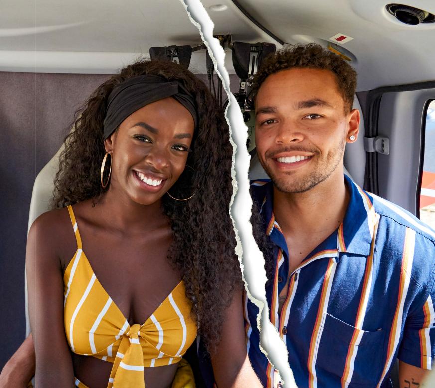 Justine Ndiba and Caleb Corprew Celebrity Splits of 2021: Stars Who Broke Up This Year