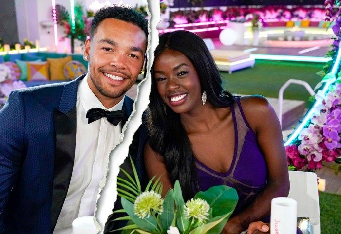 Los ganadores de 'Love Island' Justine Ndiba y Caleb Corprew se separan