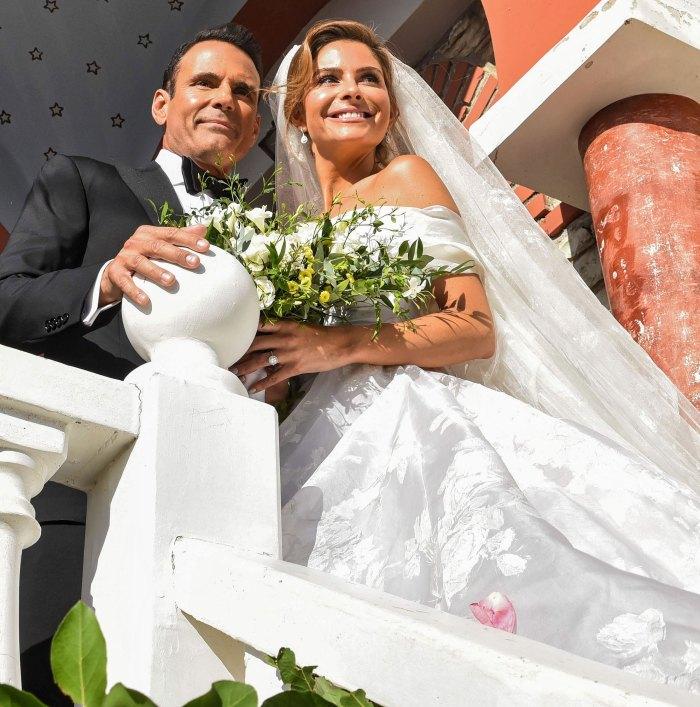 Maria Menounos dice que ella y su esposo Keven Undergaro esperan una boda para bebés