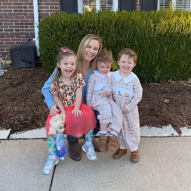 Meghan King describe la relación de sus hijos con la novia de Jim Edmonds, Kortnie O'Connor