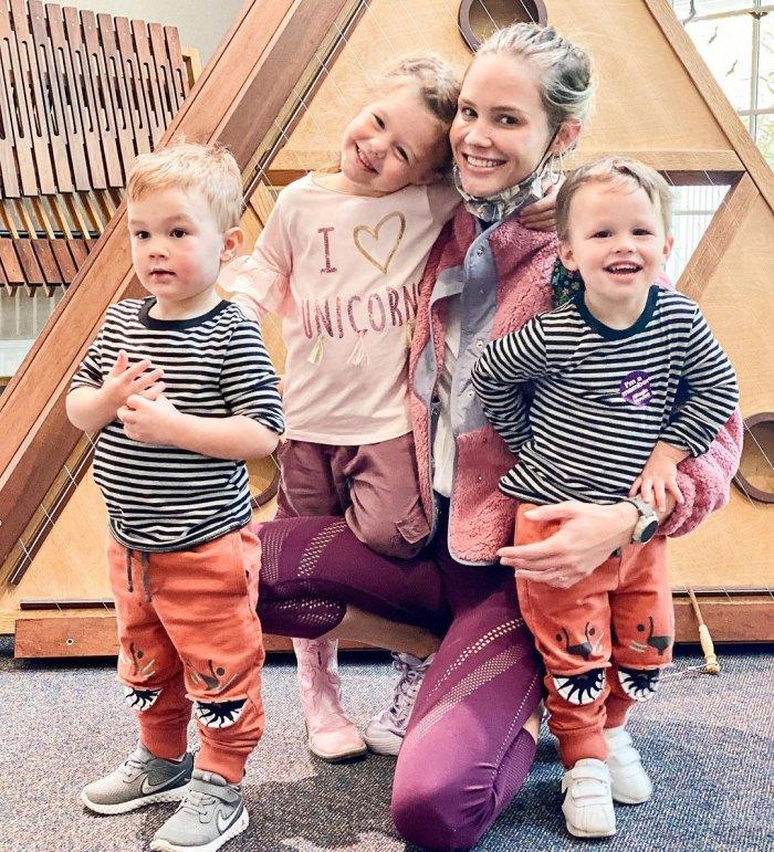 Meghan King se vuelve real sobre la crianza de los hijos en medio de la pandemia de COVID: 'Amo tanto a mis hijos, pero es DURO'