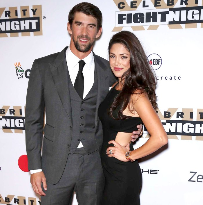 Michael Phelps Wife Nicole Feared Losing Olympian to Depression Battle
