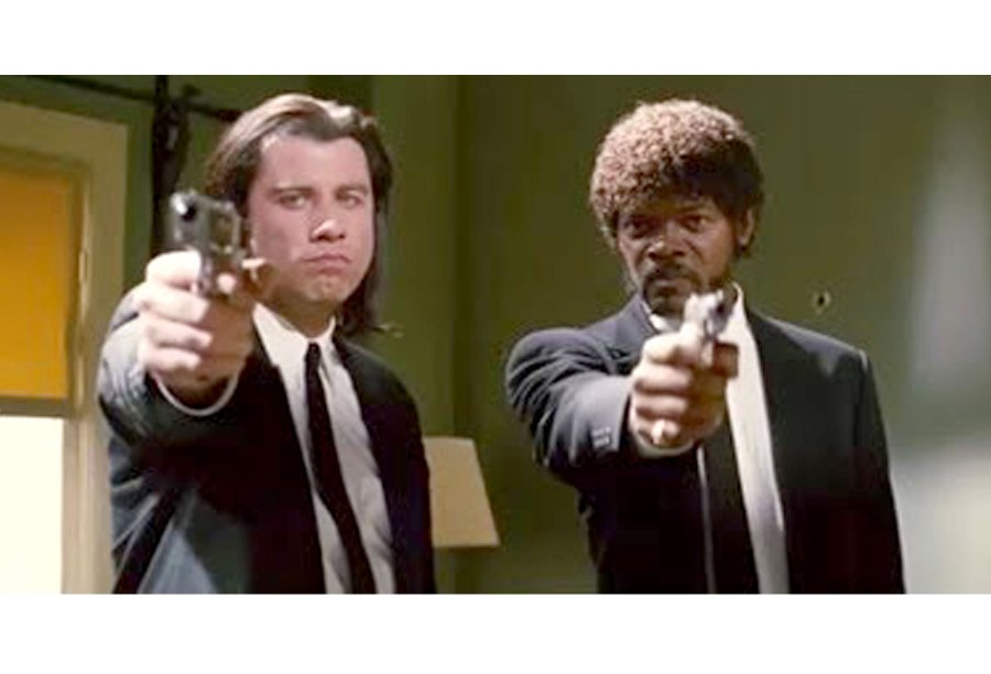 Pulp Fiction Movie TV Mistakes
