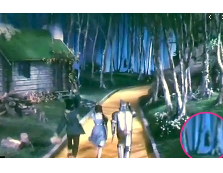 The Wizard of Oz Movie TV Mistakes
