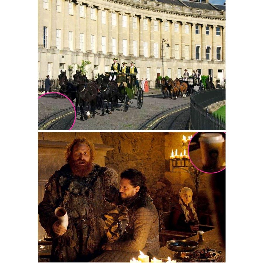 Movie TV Mistakes Bridgerton Game of Thrones