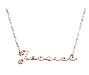 MyNameNecklace Personalized Signature Handwritten Style Name Necklace