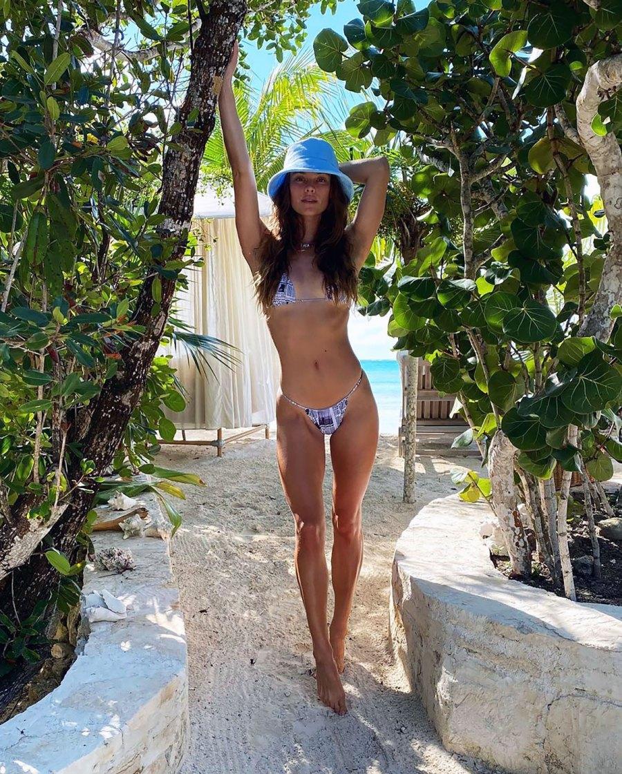 Nina Agdal's Svelte Figure Looks Incredible in a Teeny Tiny Bikini