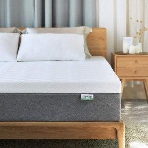 Novilla 10 inch Gel Memory Foam Queen Size Mattress for Cool Sleep & Pressure Relief