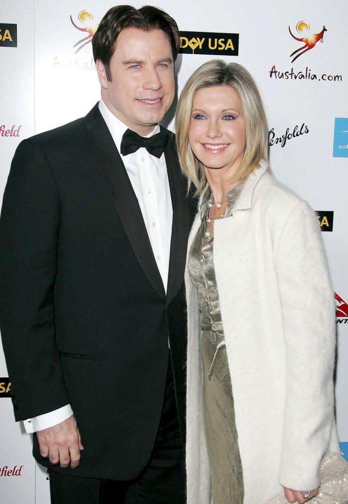 El primer beso de Olivia Newton-John con John Travolta Grease fue emocionante