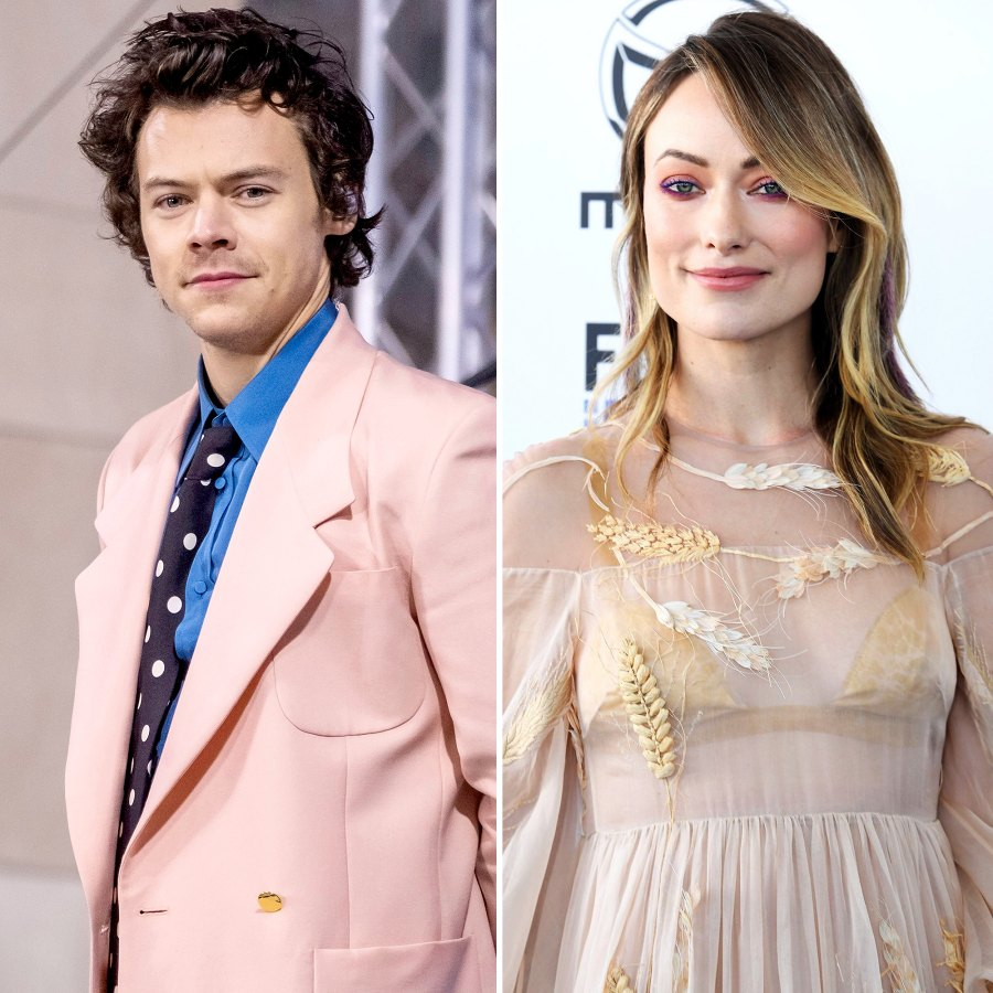 Harry Styles Olivia Wilde Dating History Through Years