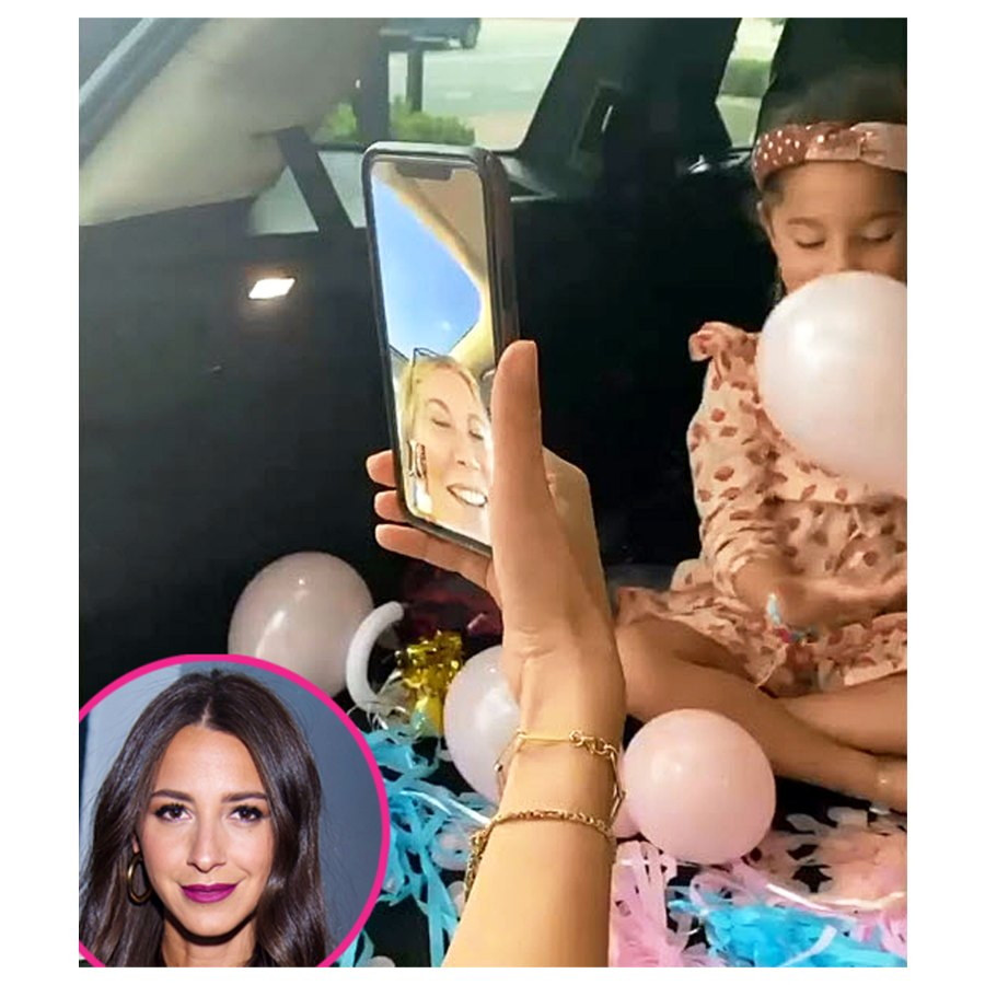 Arielle Charnas Pregnant Celebrities Share Creative Sex Reveals 2021 Party Pics