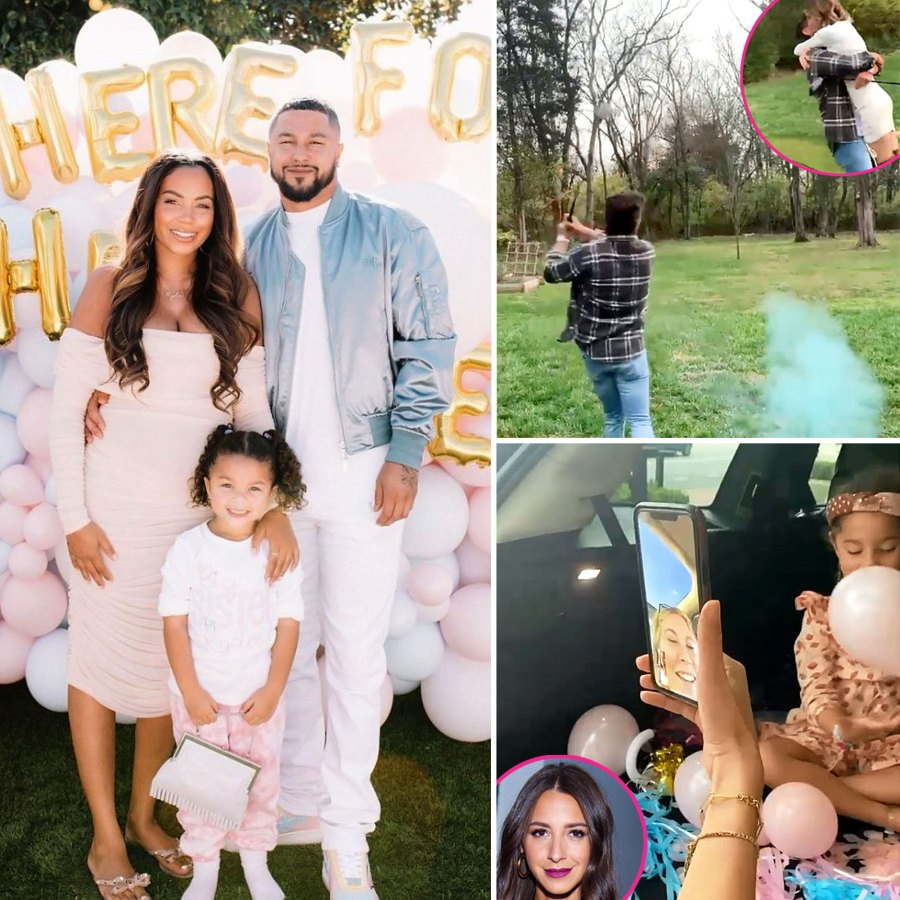 Pregnant Celebrities Share Creative Sex Reveals 2021 Party Pics