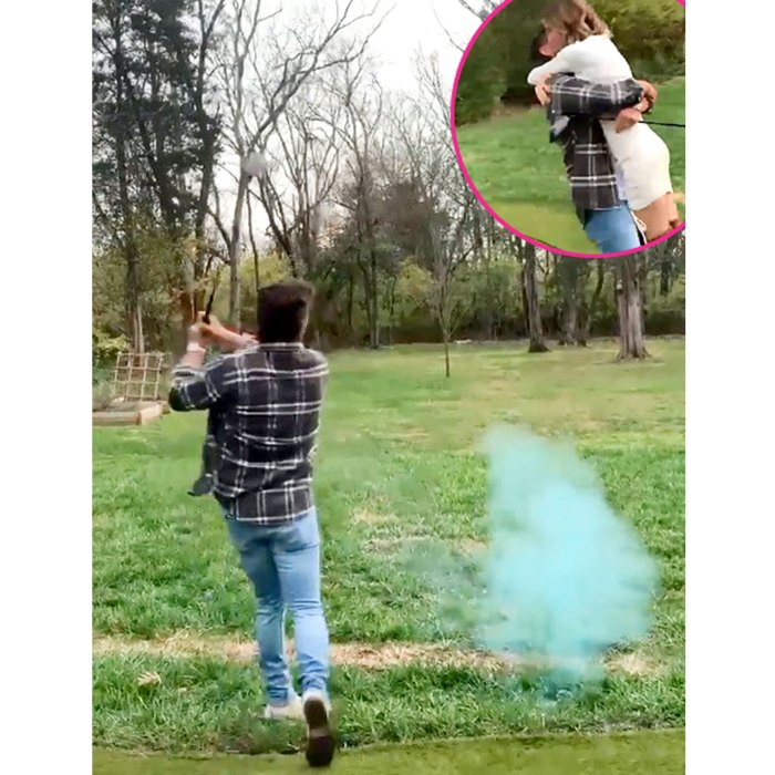 La embarazada Lauren Bushnell Chris Lane revela su primer hijo sexual