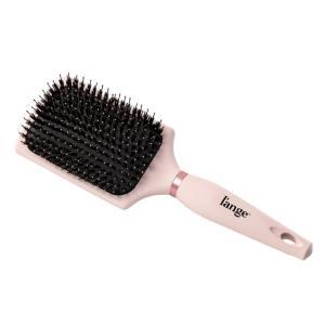 Siena Paddle Brush Blush Nylon Bristle with Boar