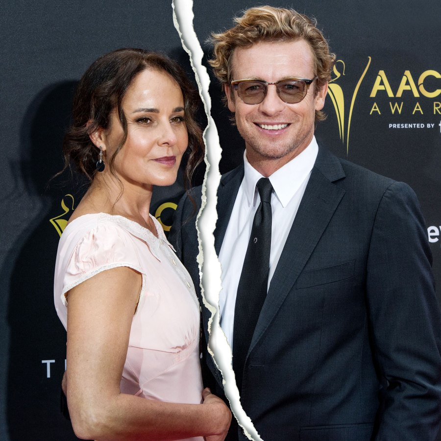 The Mentalist Simon Baker Wife Rebecca Rigg Split After 29 Years