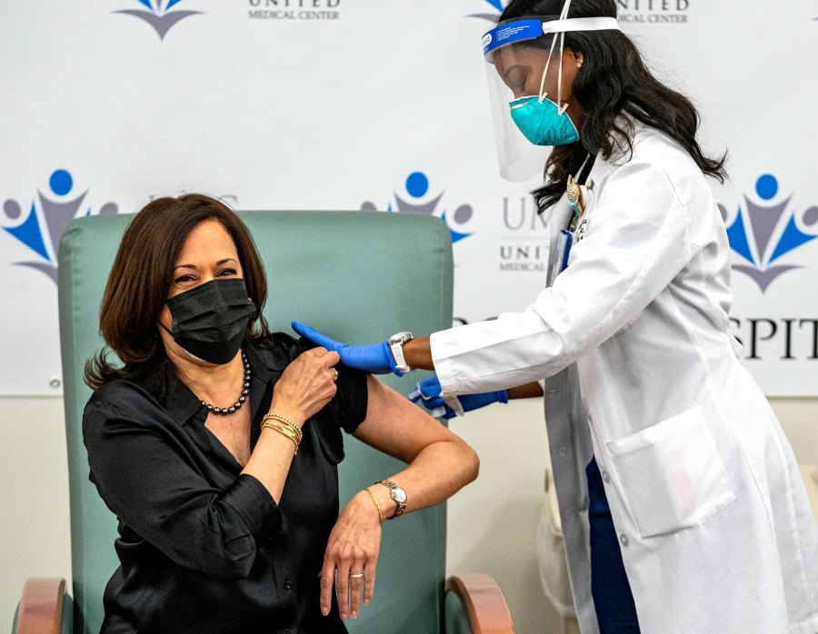 Kamala Harris Stars Whove Spoken Out About Getting COVID-19 Vaccine