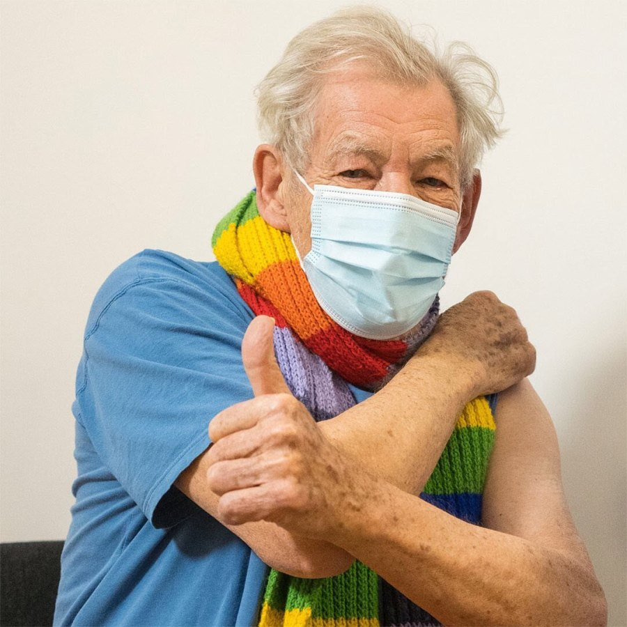 Ian McKellen Stars Whove Spoken Out About Getting COVID-19 Vaccine