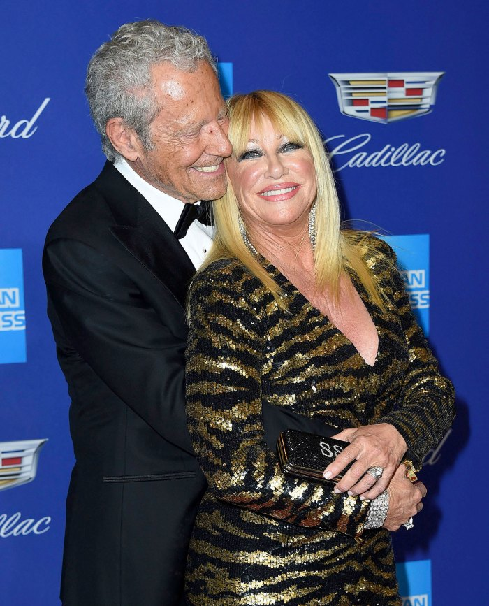 Suzanne Somers Gushes About Being Madly in Love With Husband Alan Hammel