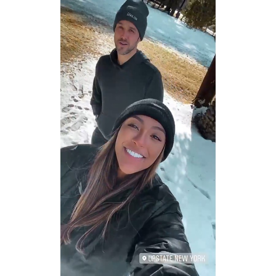 Tayshia Adams and Zac Clark Celebrate His 37th Birthday With a Road Trip to Upstate New York
