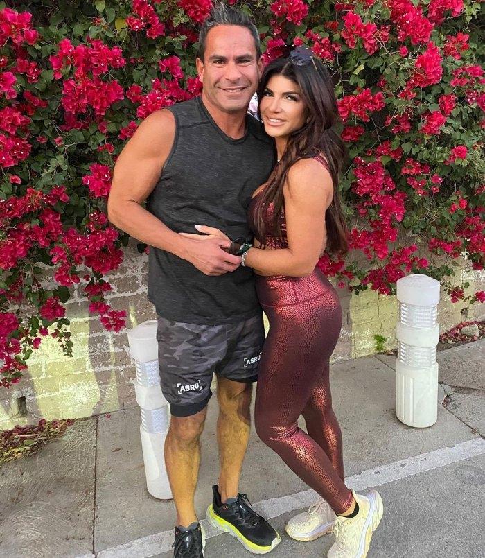 Teresa Giudice Boyfriend Luis Louie Ruelas Grateful Trip Los Angeles With Daughters