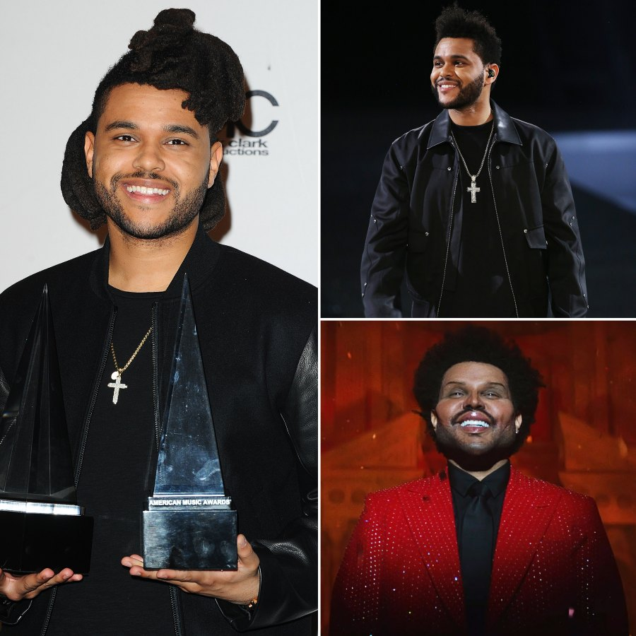 The Weeknd Through The Years