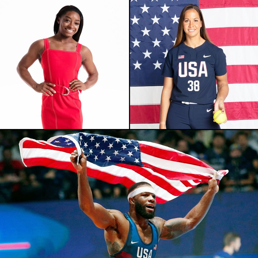 Simone Biles Cat Osterman and Jordan Ernest Burroughs Toyko Olympic Athletes to Watch Out For