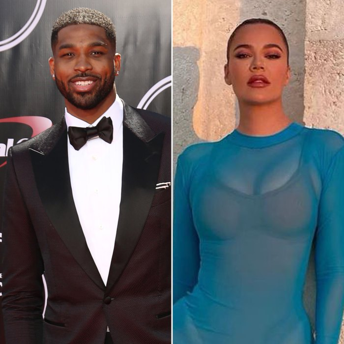 Tristan Thompson coquetea con Khloe Kardashian después de que la estrella de 'KUWTK' publicara una foto sexy con un vestido transparente