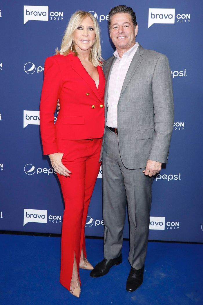 Vicki Gunvalson Not Wedding Planning With Fiance Steve Lodge