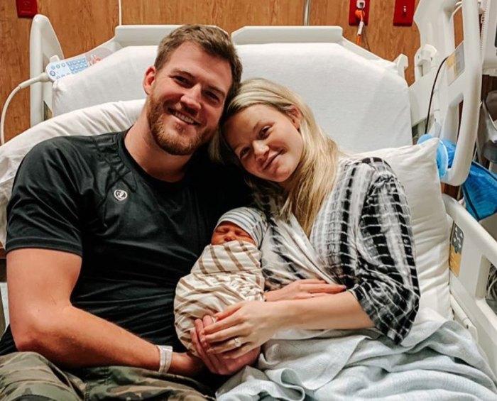 Witney Carson comparte un dulce video del nacimiento del bebé Leo: '¡Esperamos tanto por ti, bebé!'