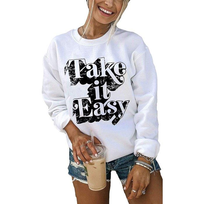 amazon-sweatshirt-take-it-easy