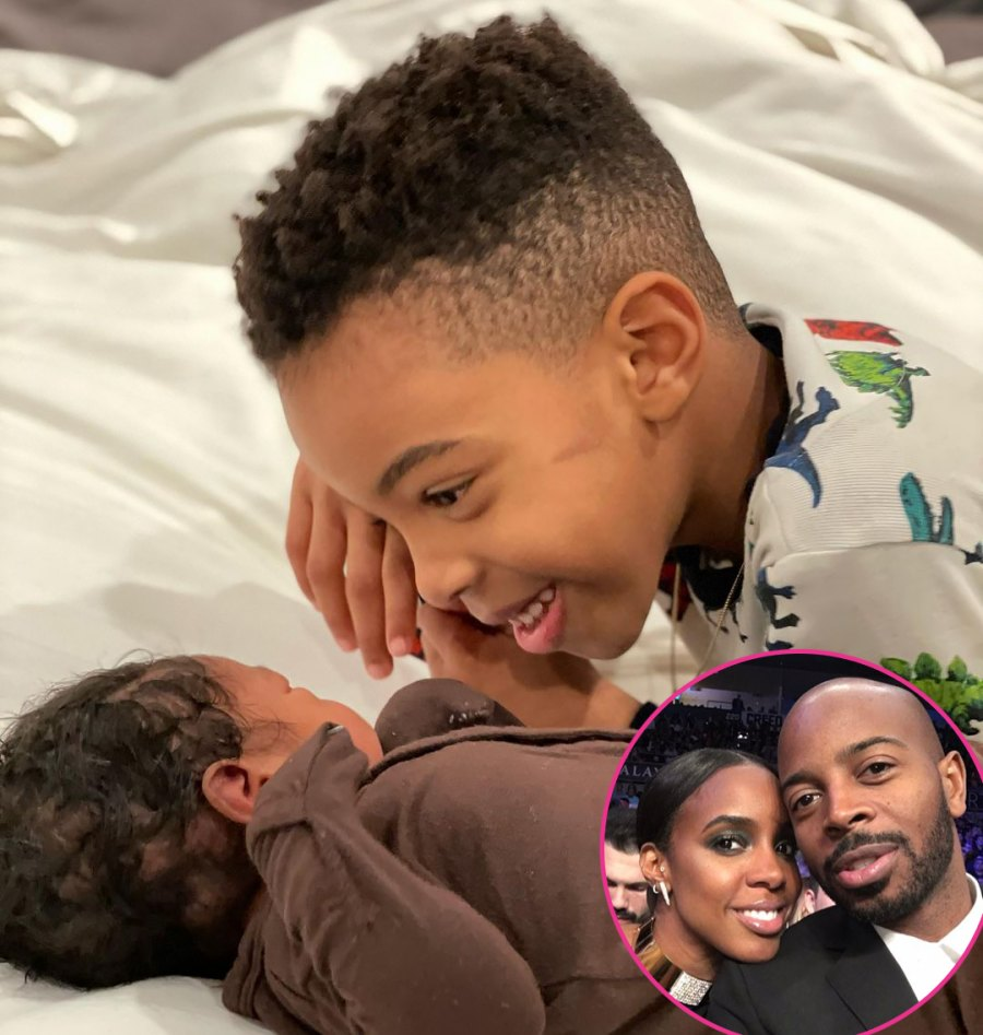 Kelly Rowland and Tim Weatherspoon Celebrity Babies of 2021: See Which Stars Gave Birth