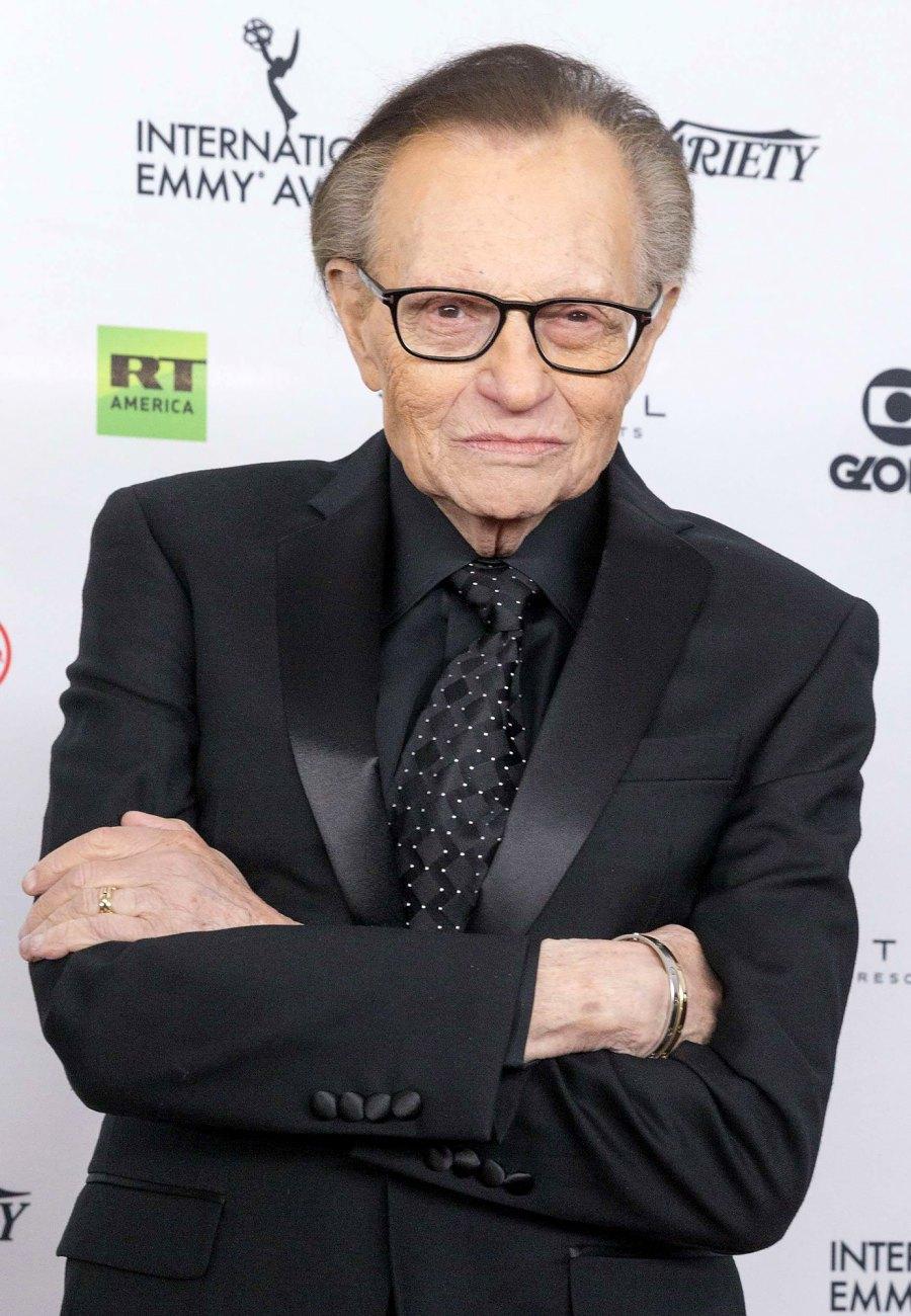 Larry King Celebrity Deaths in 2021: Stars We've Lost