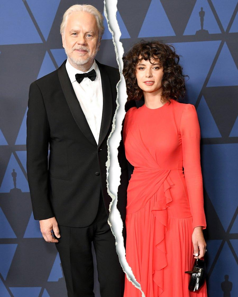 Tim Robbins and Gratiela Brancusi Celebrity Splits of 2021: Stars Who Broke Up This Year