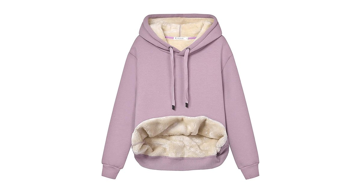 You'll Seriously Want to Melt Into This Sherpa-Lined Sweatshirt.jpg