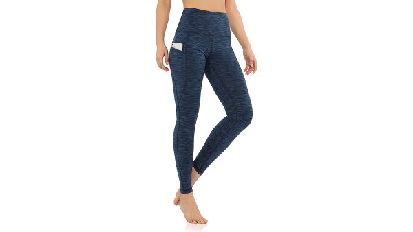 ODODOS High Waisted Yoga Leggings with Pockets