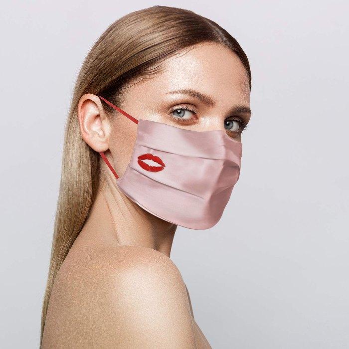Cubierta facial de doble cara de seda antideslizante