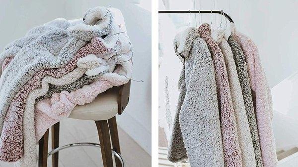 ZESICA Sherpa Fleece Sweatshirt Pullover