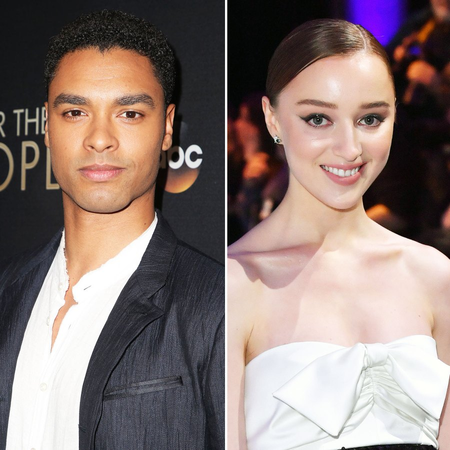 Everything Bridgerton Stars Rege-Jean Page and Phoebe Dynevor Have Said About Their Relationship