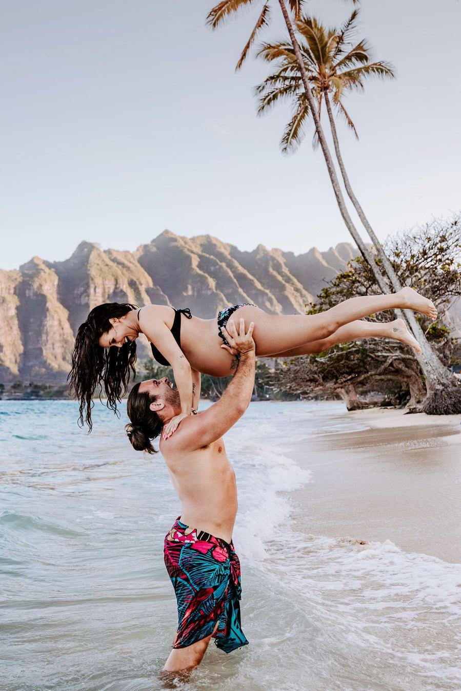 Pregnant Scheana Shay Shares Maternity Shoot Photos From Hawaii Babymoon With Brock Davies