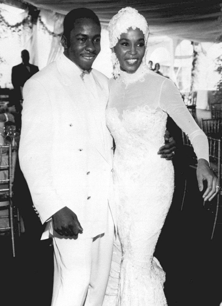 July 1992 Wedding Bobbi Kristina Brown Life With Whitney Houston and Bobby Brown