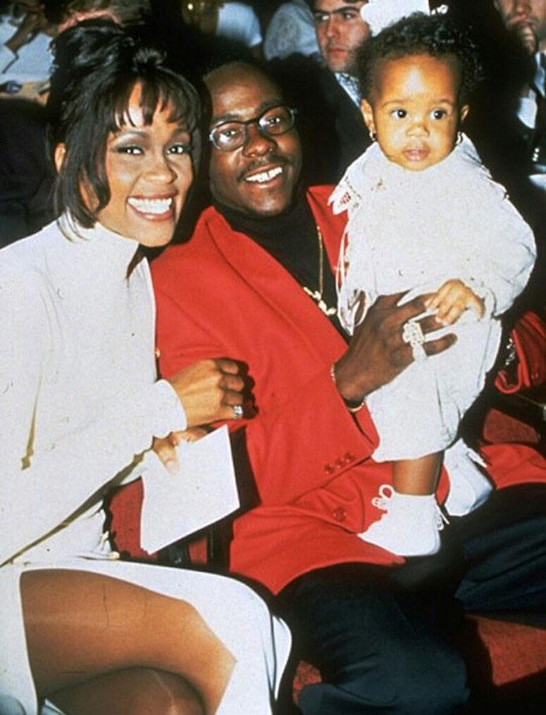 Grammys 1994 Bobbi Kristina Brown Life With Whitney Houston and Bobby Brown