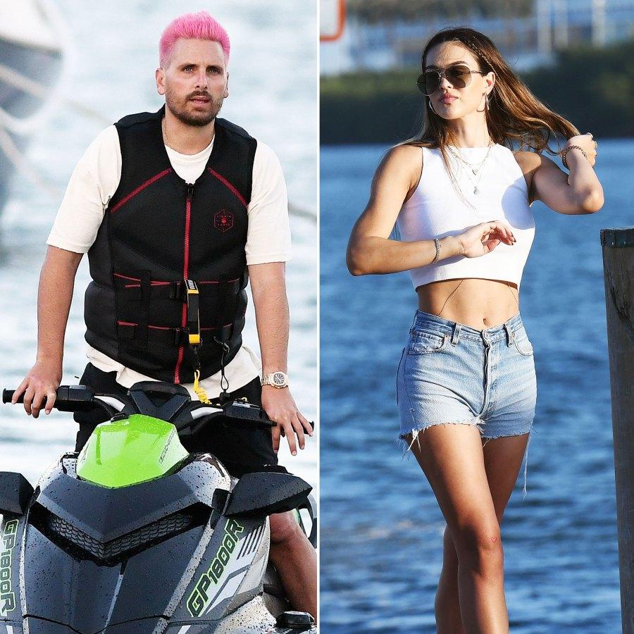 Scott Disick Jet Skis in Miami With Girlfriend Amelia Gray Hamlin