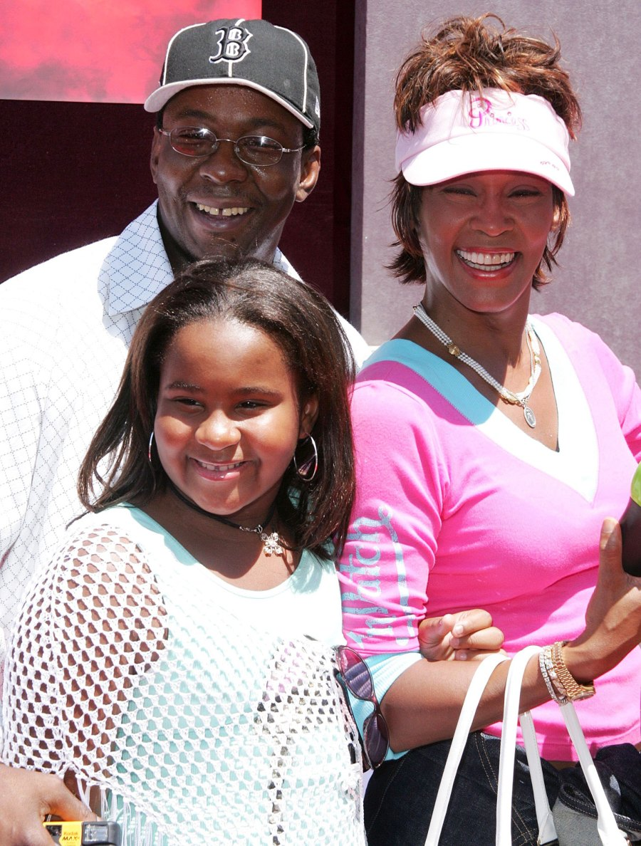 The Princess Diaries 2 Premiere August 2004 Bobbi Kristina Brown Life With Whitney Houston and Bobby Brown