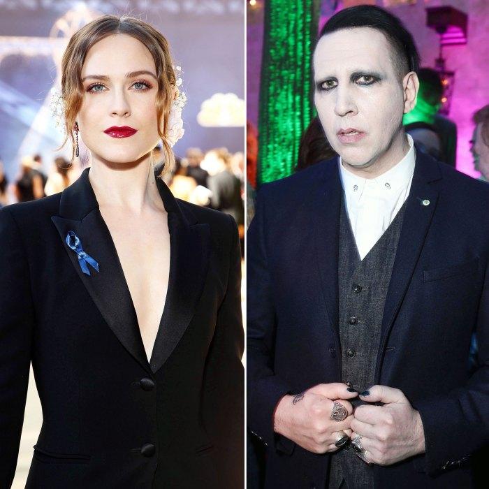 4 Women Join Evan Rachel Wood in Accusing Marilyn Manson of Abuse