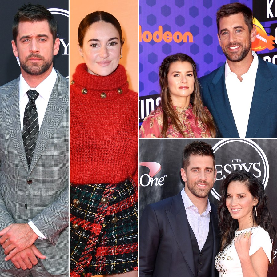 Aaron Rodgers' Dating History Through the Years