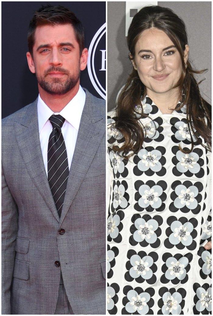 Aaron Rodgers dice que está comprometido con Shailene Woodley