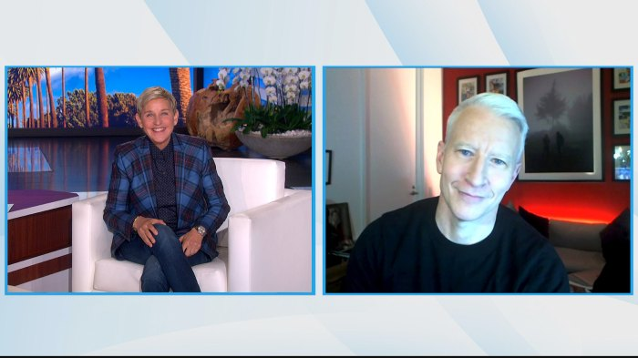 Anderson Cooper and Ex Benjamin Maisani Are Living Together While Coparenting Son Wyatt Ellen DeGeneres Show