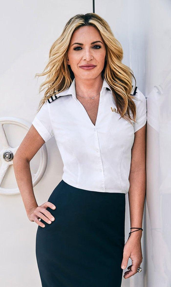 Kate Chastain Bajo cubierta RHONY Peor compañero de tripulación