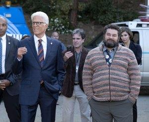 Bobby Moynihan Recalls Awkward 1st Meeting With Mr Mayor Costar Ted Danson Looks Back SNL